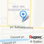 Мясная лавка на карте Астрахани