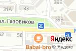Схема проезда до компании Магазин фастфудной продукции в Астрахани