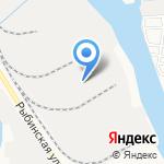 Асфальтобетонный завод на карте Астрахани
