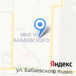 Дашенька на карте Астрахани