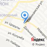 Почтовое отделение №9 на карте Астрахани