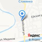 АвтоЮг на карте Астрахани
