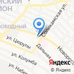 Галла на карте Астрахани