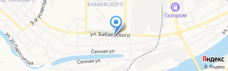 АС-Тур на карте Астрахани