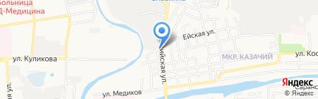 СтройСити на карте Астрахани