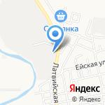 АНГАРА на карте Астрахани