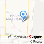 Остров сказок на карте Астрахани