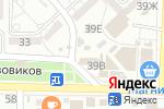 Схема проезда до компании Распутинъ в Астрахани