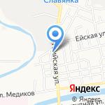 Палаццо на карте Астрахани