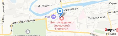 Федеральный центр сердечно-сосудистой хирургии на карте Астрахани
