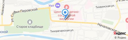 Все для сауны на карте Астрахани