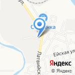 Автоцентр на Славянской на карте Астрахани