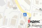 Схема проезда до компании Правый руль в Астрахани