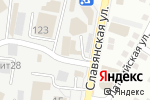 Схема проезда до компании CREATIVE в Астрахани