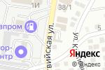 Схема проезда до компании Избушка в Астрахани