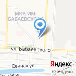 Евромикс на карте Астрахани