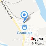 Киоск по продаже рыбы на карте Астрахани