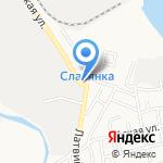 Нефтепром на карте Астрахани