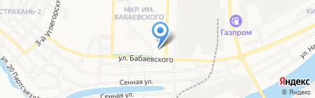 Сладость на карте Астрахани