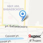 Сотка на карте Астрахани