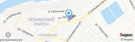 Участковая ветеринарная лечебница Ленинского района на карте Астрахани