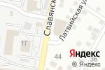 Схема проезда до компании Комфорт-М в Астрахани