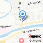Кровля Сток на карте Астрахани