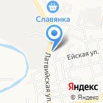 Мой дом на карте Астрахани