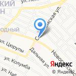 Мясной магазин на карте Астрахани