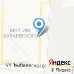 Газпромбанк на карте Астрахани