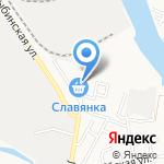 Магазин сантехники на карте Астрахани