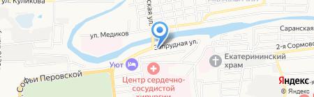 СВ-Сервис на карте Астрахани