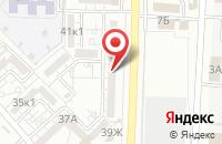Схема проезда до компании Ваш защитник в Астрахани
