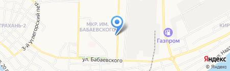 Магазин оптики на карте Астрахани
