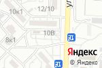 Схема проезда до компании Час Пик в Астрахани