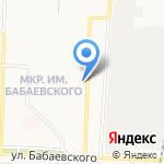 Час Пик на карте Астрахани
