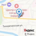 Лия на карте Астрахани