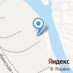 Комбинат хлебопродуктов на карте Астрахани