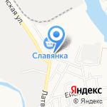 Белорусский на карте Астрахани