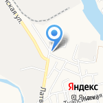 Мегаполис на карте Астрахани