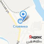 Упаковка на карте Астрахани