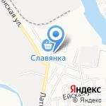 Посудная лавка на карте Астрахани
