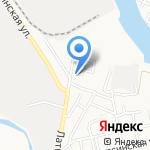 Тойбастар на карте Астрахани