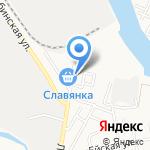 Сантехцентр на карте Астрахани