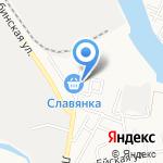Вокин на карте Астрахани