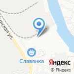 Аква+ на карте Астрахани