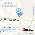 Тагивердиев И.А. на карте Астрахани