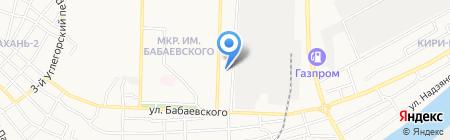 Титан-Строй на карте Астрахани