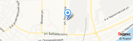 Сеть парикмахерских на карте Астрахани