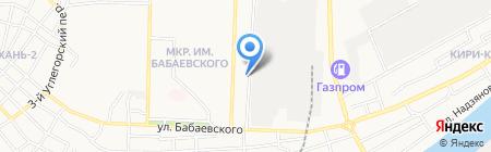 У Марины на карте Астрахани